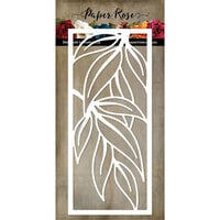 Paper Rose - Dies - Slimline Gum Leaf Frame