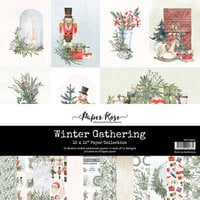 Paper Rose - 12 x 12 Collection Pack - Christmas - Winter Gathering