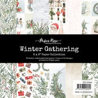 Paper Rose - 6 x 6 Collection Pack - Christmas - Winter Gathering