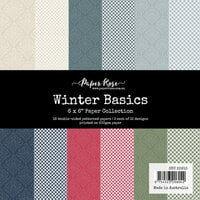 Paper Rose - 6 x 6 Collection Pack - Winter Basics
