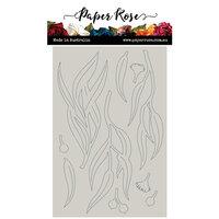 Paper Rose - Chipboard - Eucalyptus Leaves