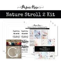 Paper Rose - Cardmaking Kit - Nature Stroll 2
