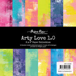 Paper Rose - 6 x 6 Collection Pack - Arty Love 1.0