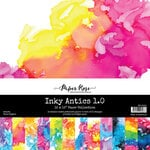 Paper Rose - 12 x 12 Collection Pack - Inky Antics 1.0