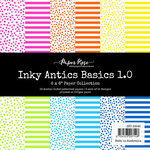 Paper Rose - 6 x 6 Collection Pack - Inky Antics Basics 1.0