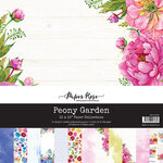 Paper Rose - 12 x 12 Collection Pack - Peony Garden