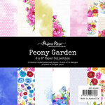 Paper Rose - 6 x 6 Collection Pack - Peony Garden
