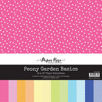 Paper Rose - 12 x 12 Collection Pack - Peony Garden Basics