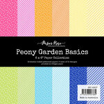 Paper Rose - 6 x 6 Collection Pack - Peony Garden Basics