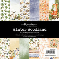 Paper Rose - 6 x 6 Collection Pack - Winter Woodland