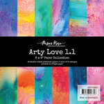 Paper Rose - 6 x 6 Collection Pack - Arty Love 1.1