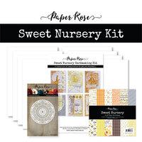 Paper Rose - Cardmaking Kit - Sweet Nursery
