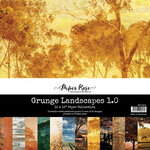 Paper Rose - 12 x 12 Collection Pack - Grunge Landscapes 1.0