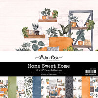Paper Rose - 12 x 12 Collection Pack - Home Sweet Home