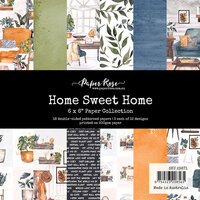 Paper Rose - 6 x 6 Collection Pack - Home Sweet Home