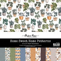 Paper Rose - 12 x 12 Collection Pack - Home Sweet Home Patterns
