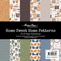 Paper Rose - 6 x 6 Collection Pack - Home Sweet Home Patterns