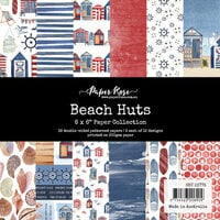Paper Rose - 6 x 6 Collection Pack - Beach Huts