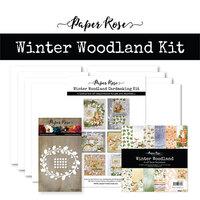 Paper Rose - Cardmaking Kit - Winter Woodland