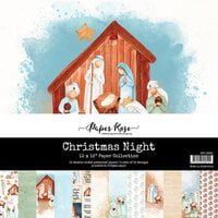 Paper Rose - 12 x 12 Collection Pack - Christmas Night