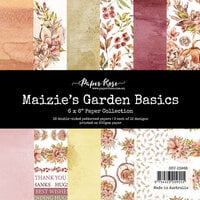 Paper Rose - 6 x 6 Collection Pack - Maizie's Garden