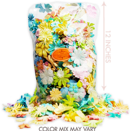 Prima - Jumbo Bag of Flowers - Pastel, CLEARANCE