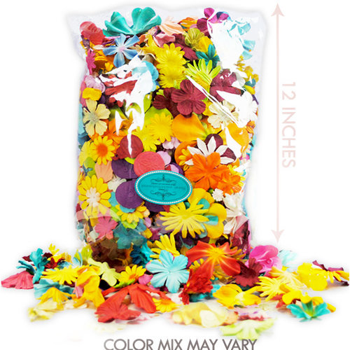 Prima - Jumbo Bag of Flowers - Brights, CLEARANCE