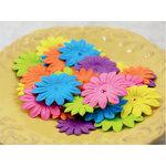 Prima - E Line - Daisy Delicacies Collection - Flower Embellishments - Mixed Bright
