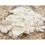 Prima - E Line - Chelsea Collection - Flower Embellishments - White