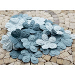 Prima - E Line - Chelsea Collection - Flower Embellishments - Slate Blue