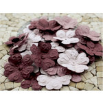 Prima - E Line - Chelsea Collection - Flower Embellishments - Plum