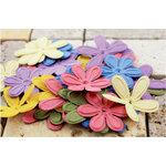 Prima - E Line - Celebrations Collection - Flower Embellishments - Assorted Vintage