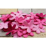 Prima - E Line - Celebrations Collection - Flower Embellishments - Bright Pink