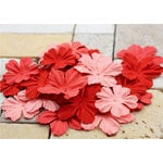 Prima - E Line - Bermuda Breeze Collection - Flower Embellishments - Red