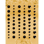 Prima - E Line - Self Adhesive Pearls and Crystals - Bling - Assortment 2