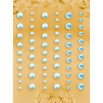 Prima - E Line - Self Adhesive Pearls and Crystals - Bling - Assortment 4