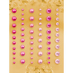 Prima - E Line - Self Adhesive Pearls and Crystals - Bling - Assortment 8