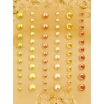 Prima - E Line - Self Adhesive Pearls and Crystals - Bling - Assortment 10