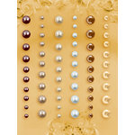 Prima - E Line - Self Adhesive Pearls and Crystals - Bling - Assortment 12