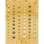 Prima - E Line - Self Adhesive Pearls and Crystals - Bling - Assortment 14