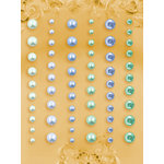 Prima - E Line - Self Adhesive Pearls and Crystals - Bling - Assortment 16