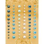 Prima - E Line - Self Adhesive Pearls and Crystals - Bling - Assortment 18