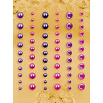 Prima - E Line - Self Adhesive Pearls and Crystals - Bling - Assortment 19