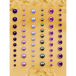 Prima - E Line - Self Adhesive Pearls and Crystals - Bling - Assortment 20