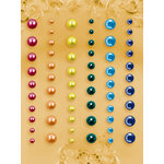 Prima - E Line - Self Adhesive Pearls and Crystals - Bling - Assortment 23