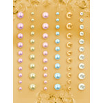 Prima - E Line - Self Adhesive Pearls and Crystals - Bling - Assortment 26