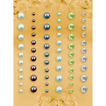 Prima - E Line - Self Adhesive Pearls and Crystals - Bling - Assortment 29