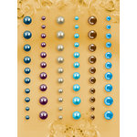 Prima - E Line - Self Adhesive Pearls and Crystals - Bling - Assortment 30