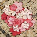 Prima - E Line - Flower Embellishments - Pink Mix 1
