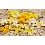 Prima - E Line - Flower Embellishments - Yellow Mix 2, CLEARANCE